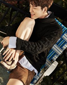 Hong Jong Hyun - InStyle Magazine October Issue '16 Hong Jong Hyun, Jung Hyun, Instyle Magazine, Korean Star, Film Movie, Movies, Korean Model, Actor Model, Korean Beauty