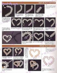 I have been struggling with beading an open heart. maybe this will help.