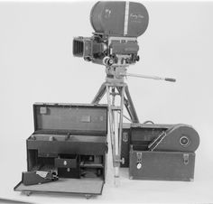 1938 BNC 100 Mitchell silent film camera & equipment used by Crawley films in Ontario & Quebec