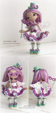 In this article we will share free amigurumi dolls crochet patterns. Everything about Amigurumi is what you're looking for. Diy Crochet Doll, Knitted Dolls, Crochet Baby, Free Crochet, Doll Amigurumi Free Pattern, Crochet Patterns Amigurumi, Amigurumi Doll, Cute Baby Dolls, How To Start Knitting