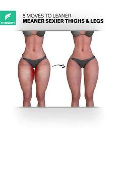Body Weight Leg Workout, Leg And Glute Workout, Buttocks Workout, Full Body Gym Workout, Waist Workout, Weight Loss Workout Plan, Thunder Thigh Workout, Fitness Workouts, Gym Workout Videos