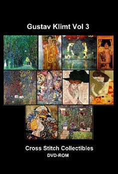 DVD-KL-03 - Klimt Vol 3 DVD - All cross stitch patterns - Abstract - DVD Collections - Groups & Figures - Klimt - Landmarks - Nature - - Nouveau - Cross Stitch Collectibles