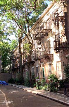 lugares secretos en Nueva York patchin place