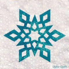 Qubee Quilts: The Desperate Housewife Snowflake Quilt, Snowflake Pattern, Snowflakes, Star Quilts, Quilt Blocks, Star Blocks, Mini Quilts, Quilting Projects, Quilting Designs