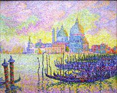 Grand Canal, Venice - Paul Signac