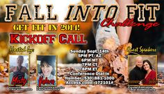 #FallintoFitChallenge kick off call is this Sunday, September 14th.  You don't want to miss it!  I'm a coach and would love for you to join me for this amazing 30 days! #teamhappygirlhealthy www.facebook.com/happygirlhealthy www.happygirlhealthy.isagenix.com