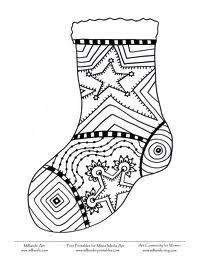 Dibujos y Plantillas para imprimir: Botas navidad