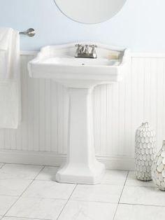 Bathroom Sinks Essex essex bathroom sink wth metal console | bathroom remodel