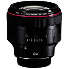 In my absolute wish list!  Behold. The canon 85mm 1.2 lens. I'm in love.