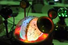 A computer designed by hobbyists to look like a brain on display at a Berlin fair in 2012. What happens when we go from crude models to comp...