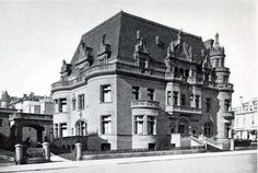 The Spreckels Mansion, San Francisco. The Spreckels' home was destroyed in the fire after the San Francisco Earthquake.