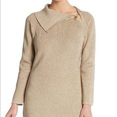 Calvin Klein sweater dress This is beautiful and almost brand new sweater dress. Calvin Klein Dresses Midi