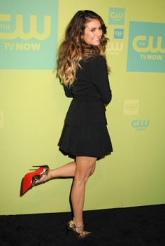 Nina Dobrev Debuts Blond Ombre Hair at the 2014 CW Upfronts! (PHOTOS)
