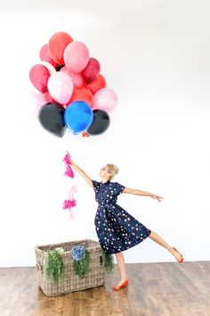 Fly away with me ... #valentinesday #balloons @katespadeny #cute