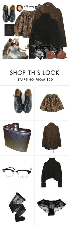 """saana iv"" by paper-freckles ❤ liked on Polyvore featuring Dr. Martens, Topshop, Coach, Vince, Ray-Ban and Emporio Armani"