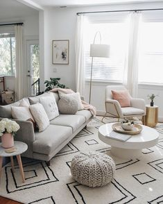 Hold up to date with the latest small living room decoration a few ideas (chic & modern). Find great methods for getting fashionable design even although you have a small living room. Living Room Grey, Living Room Interior, Home Living Room, Living Room Furniture, Living Room Designs, Living Room Decor, Apartment Living Rooms, Gray Couch Living Room, Apartment Couch