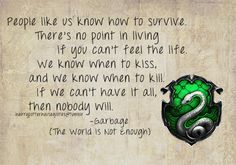 Slytherin House Quotes