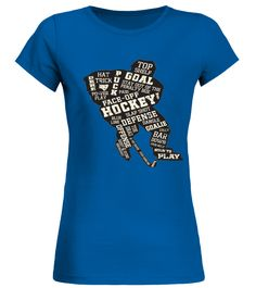 Limited Edition - Hockey Lovers (Round neck T-Shirt Woman - Royal Blue) #motorcycles #DIY #crafts hockey nhl, hockey diy, hockey sur glace, dried orange slices, yule decorations, scandinavian christmas Field Hockey Quotes, Hockey Sayings, Field Hockey Drills, Hockey Gifts, Hockey Mom, Slap Shot, Hockey World, Promposal, Yule Decorations