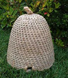 vintage french bee skep
