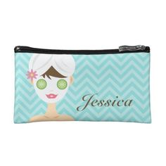 Customize your own cosmetic bags with your name and any pictures as you like.