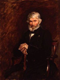 Thomas Carlyle, Sir John Everett Millais (1877). Attacked by a suffragist on July 17, 1914 at the National Portrait Gallery of London
