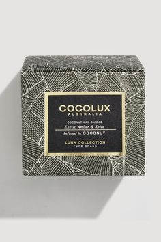 COCOLUX Exotic Amber & Spice Candle, 350g