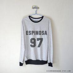 Espinoa 97  Sweatshirt $15.99 ; Matthew Espinosa ; Matt Espinosa Youtube Sweater ; Magcon Boys ; #Youtuber, #Vlogger ; Fangirl ; Graphic Tees ; Tumblr ; Teen Fashion ;