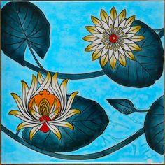 #iznik #iznikçini #izniktiles #çini #cini #tile #tiles #iznikvakfı #iznikfoundation #elyapımı #handmade #sanat #art #tasarım #design #tek #single Turkish Tiles, Turkish Art, Hidden Beauty, Tile Art, Ceramic Art, How To Draw Hands, Mandala, Folk, Illustration Art