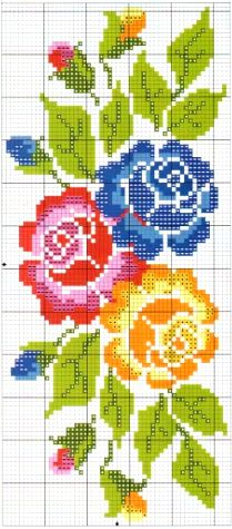Cross Stitch Collection, Cross Stitch Rose, Beaded Bags, Sewing Clothes, Perler Beads, Embroidery, Knitting, Pattern, Design