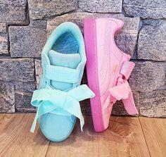 Les nouvelles Puma Heart Suede Reset sont arrivées ! Elles sont trop stylées ! #puma #heart #shoes #chaussures #chaussuresonline #style #look #ootd #fashion #fille #femme #rose #turquoise #sneakers #basket #pumaheart #suede #reset #tenue