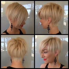 12 cortes de pelo corto y rubio muy frescos!