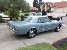 1965Mustang I drove this in high school. The only car I have ever loved.