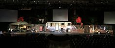 Hillbilly Set Stage Design
