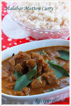 Malabar Mutton Curry / Kannur Style Mutton Curry ~ Sankeerthanam (Reciperoll.com)|Recipes | Cake Decorations | Cup Cakes |Food Photos