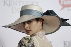 ... the Derby has also become famous for the colorful and creative hats worn by attendees, which, at times, command more attention than the horse race itself. Description from style.time.com. I searched for this on bing.com/images