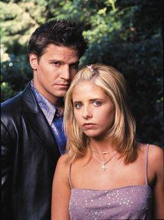 Buffy the Vampire Slayer Photo: Angelbuff David Boreanaz, Sarah Michelle Gellar, Marc Blucas, Charisma Carpenter, Michelle Trachtenberg, Joss Whedon, Alyson Hannigan, Buffy Season 5, Season 3