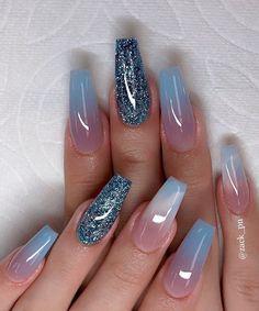 Casual Acrylic Nail Art Designs Ideas To Fascinate Your Admirers - . - Casual Acrylic Nail Art Designs Ideas To Fascinate Your Admirers – Nails Art – - Best Acrylic Nails, Acrylic Nail Art, Acrylic Nail Designs, Acrylic Nails For Summer Glitter, Gel Nails, Manicure, Coffin Nails, Nail Nail, Top Nail