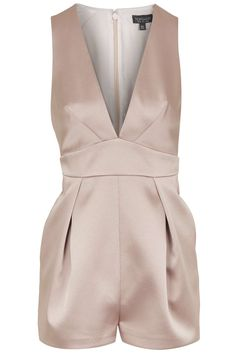 Photo 1 of Satin Plunge Playsuit
