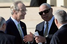 Colin Powell came, too. | The Gang's All Here For George W. Bush's Library And Museum Dedication