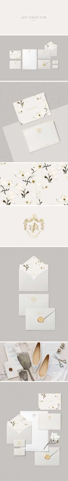 Joy Proctor brand identity designed by Cocorrina