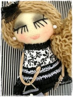 Pins and pendants - Angela's Expressions Omelet, Halloween Face Makeup, Winter Hats, Pendants, Dolls, Handmade, Omelette, Baby Dolls, Hand Made