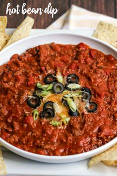Hot Bean Dip - our f