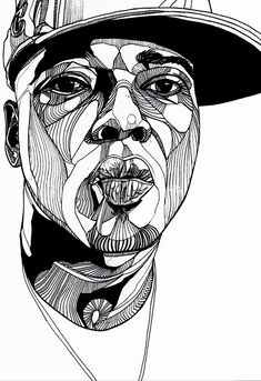 Portrait Illustration Naughty By Nature - Front Magazine - Luke Dixon Artist Illustration Mode, Illustration Vector, Portrait Illustration, Fantasy Illustration, Sketch Manga, Drawing Sketches, Art Drawings, Digital Portrait, Portrait Art