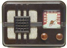 vintage Lyric radio