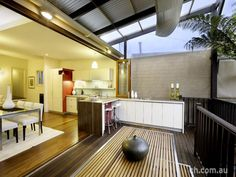 Outdoor Kitchen Ideas by Danny Broe Architect Indoor Outdoor Kitchen, Outdoor Kitchen Design, Outdoor Dining, Outdoor Kitchens, Outdoor Decor, Bifold Doors Cost, Kitchen Wall Units, Kitchen Ideas, Kitchen Designs