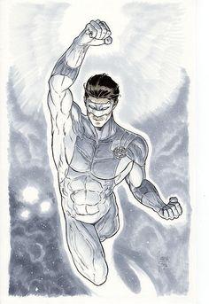 DC COMICS - WHITE LANTERN Mikel Janin