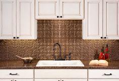 Fasade Backsplash   Traditional 1 In Argent Bronze. Backsplash PanelsKitchen  ...