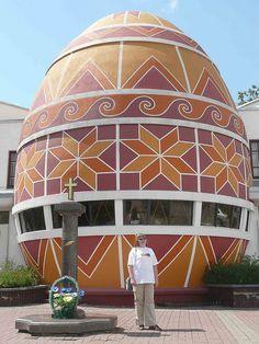 Pysanka (Easter Egg) Museum in Kolomyia, Western Ukraine by MariyaZ
