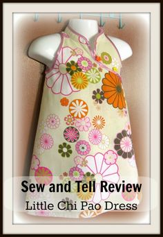 Stitch-It-Up: Sew and Tell with the Little Chi Pao Dress.  25% off during March 2014!!