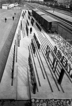 Jewish Deportation Memorial via Studio Kuadra